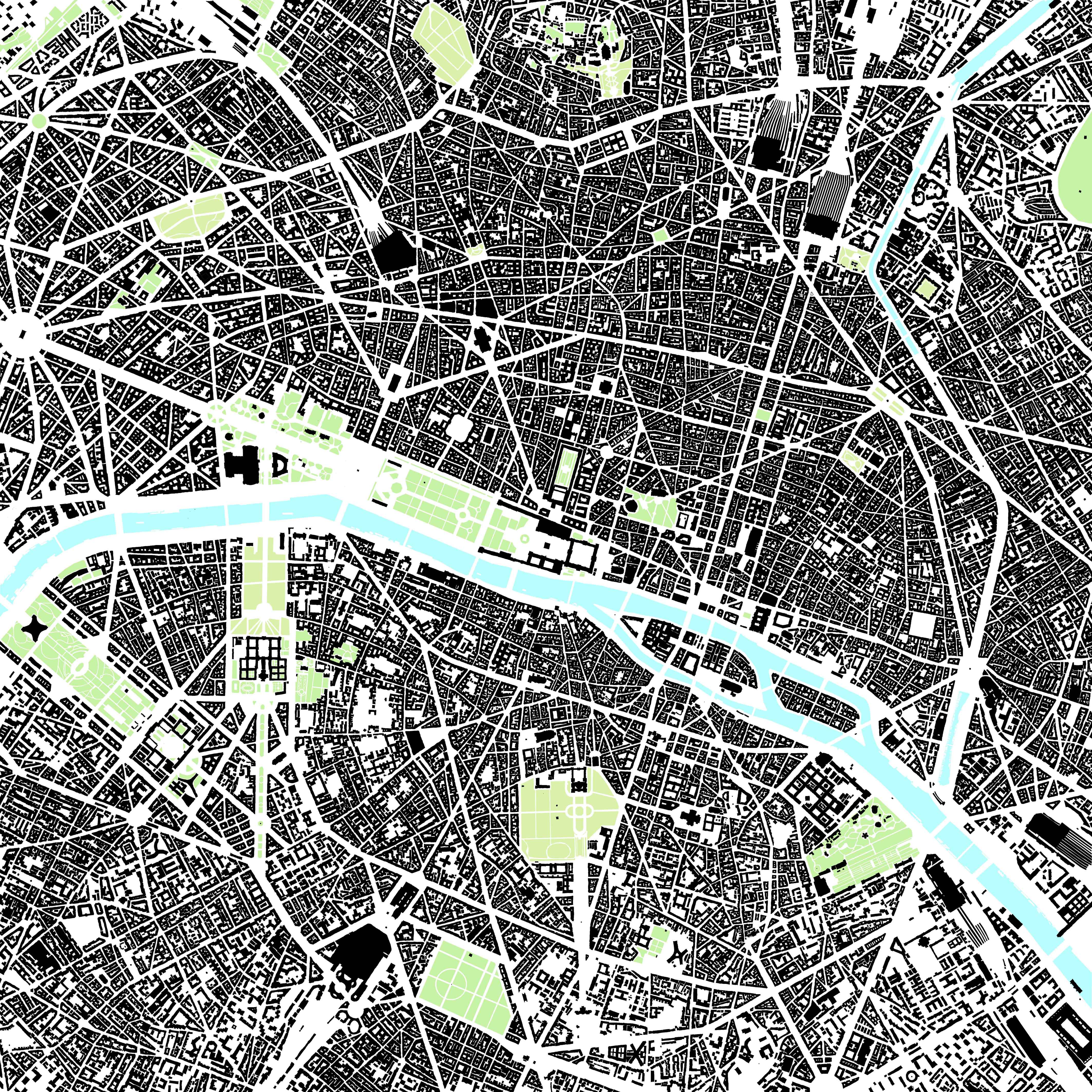 Site Architecture Map: Cycling Around Paris