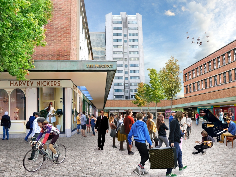 Market Street/Upper Precinct: Cat Goodall - Manchester