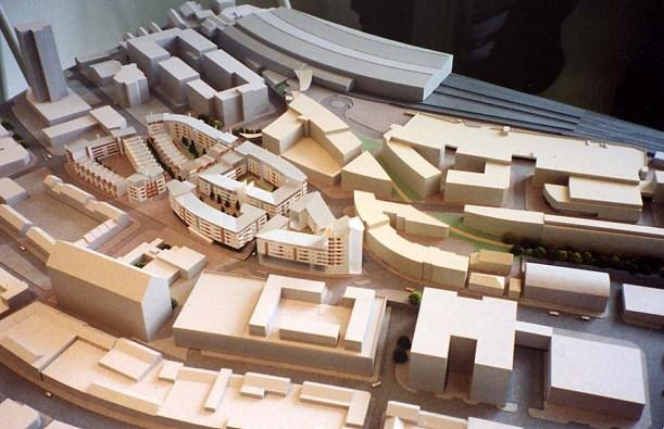 URBED - Brighton model 2